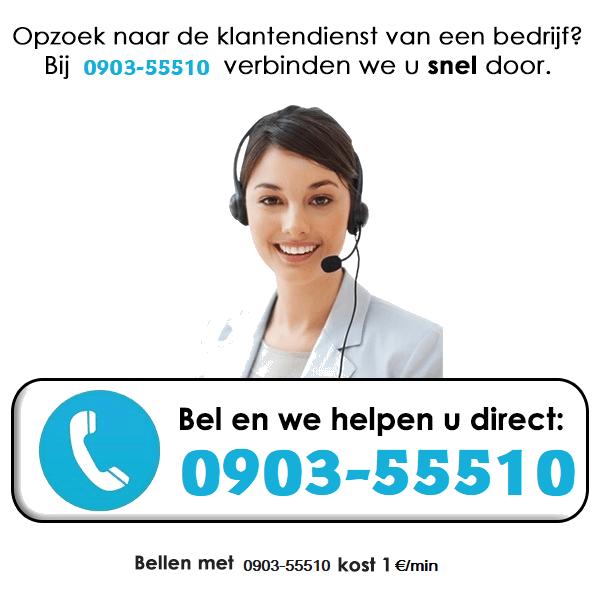 Service Index klant van België